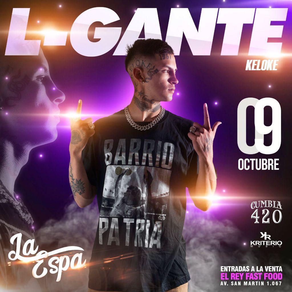 L-GANTE en San Lorenzo