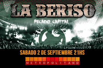 """LA BERISO presenta su disco """"Pecado Capital"""" en Rosario"""