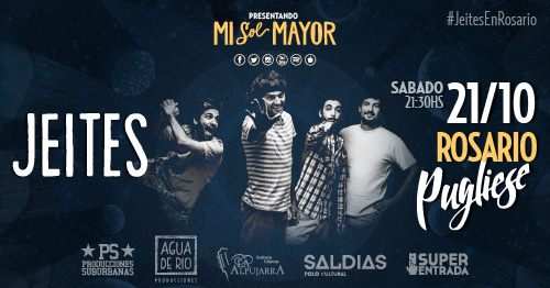 JEITES ¡¡¡ Llega #MiSolMayor a ROSARIO !!!