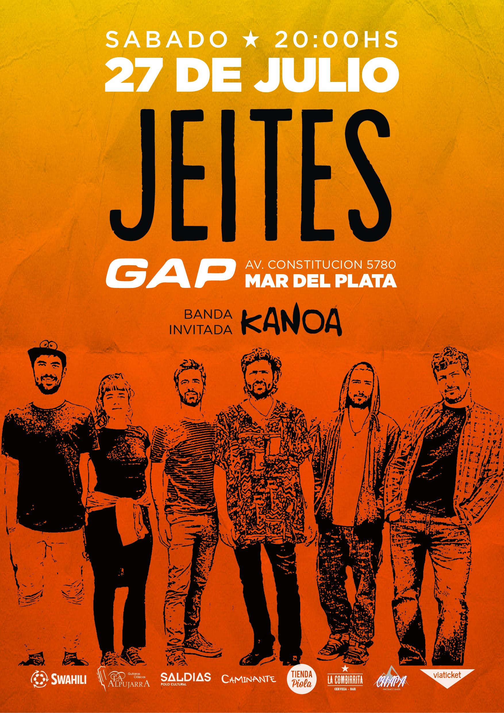 "JEITES llega a GAP con su gira ""FISURAR"""