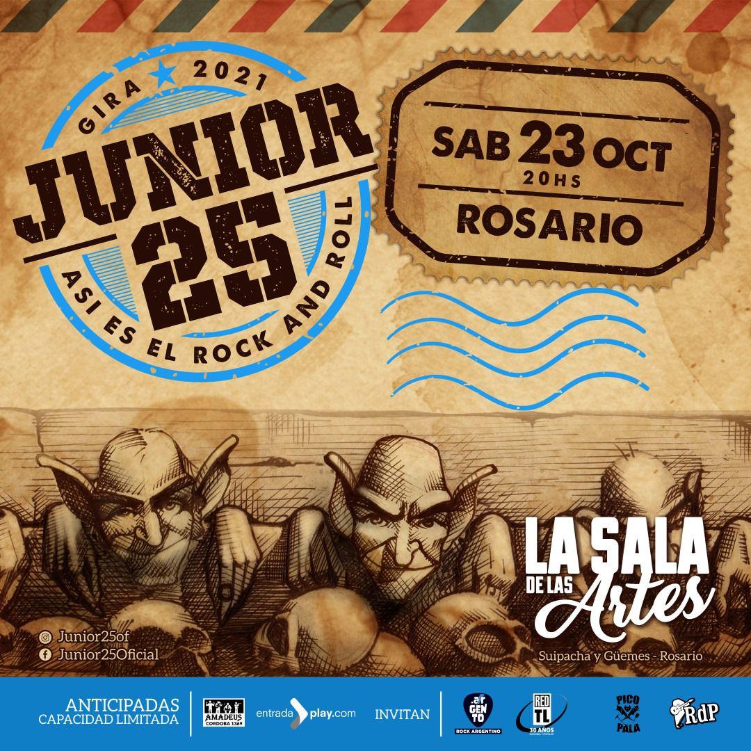 Junior 25 en Rosario