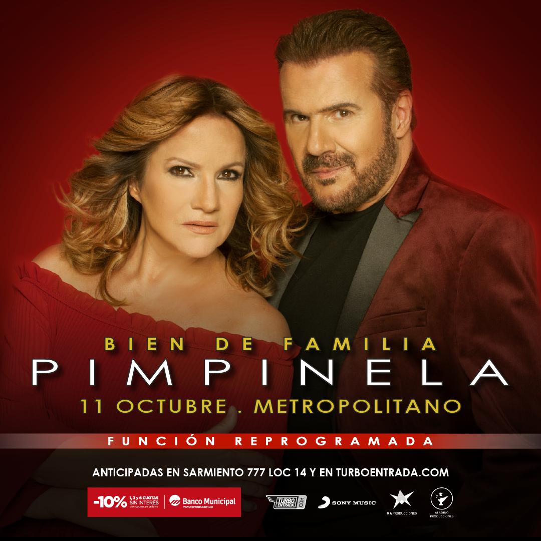 """Pimpinela llega a Rosario con su nuevo espectáculo """"Bien de familia"""" Show Reprogramado"""