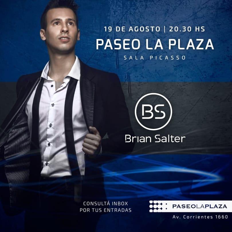 Brian Salter en Paseo La Plaza