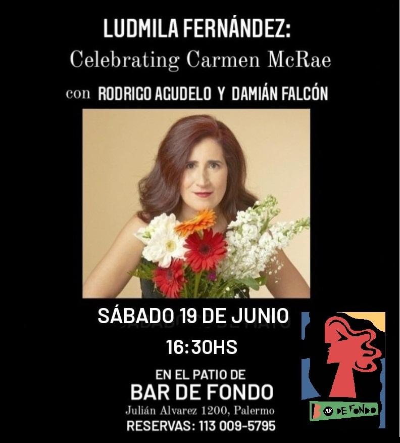 Ludmila Fernández en vivo: Celebrating CARMEN McRAE