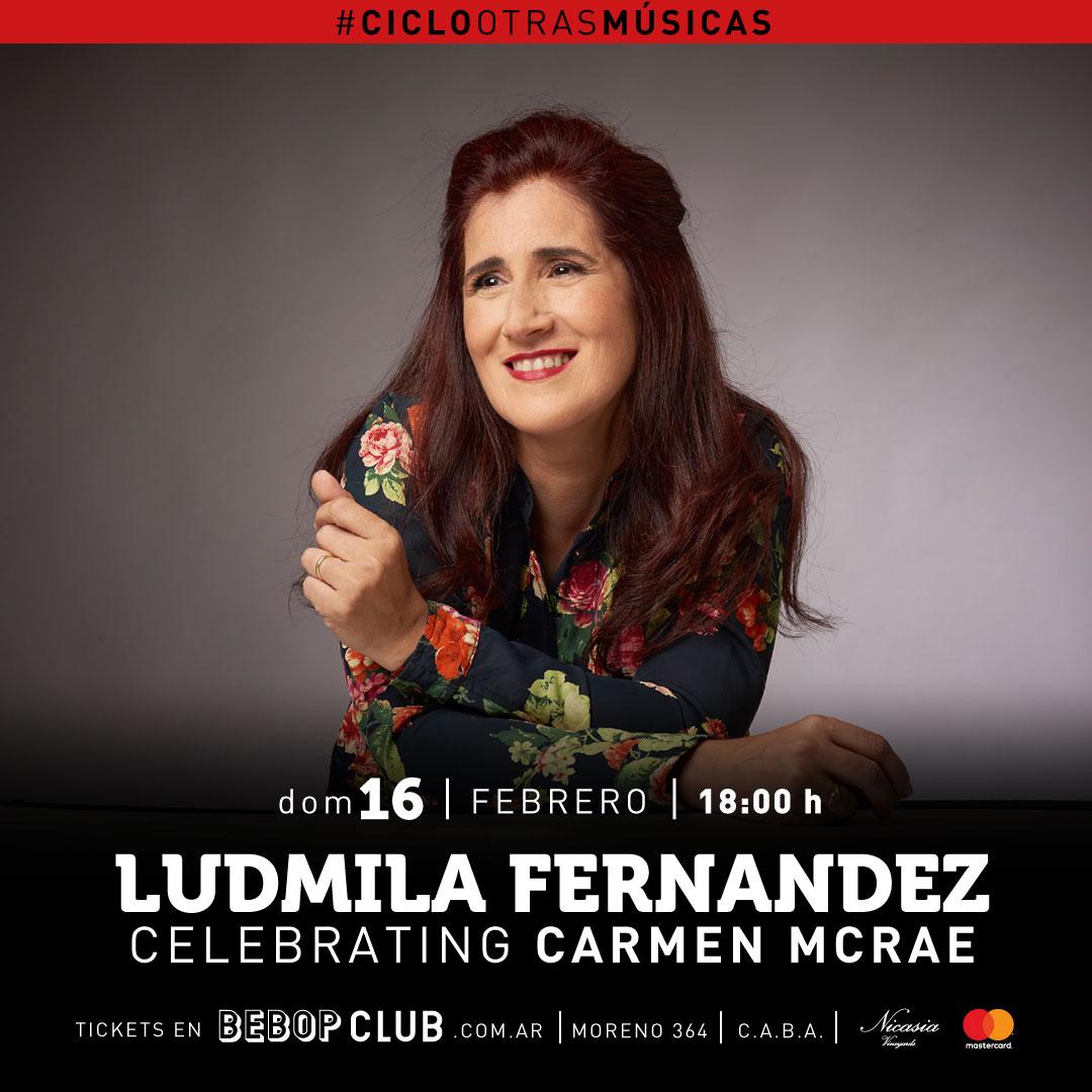 LUDMILA FERNÁNDEZ: CELEBRATING CARMEN MCRAE