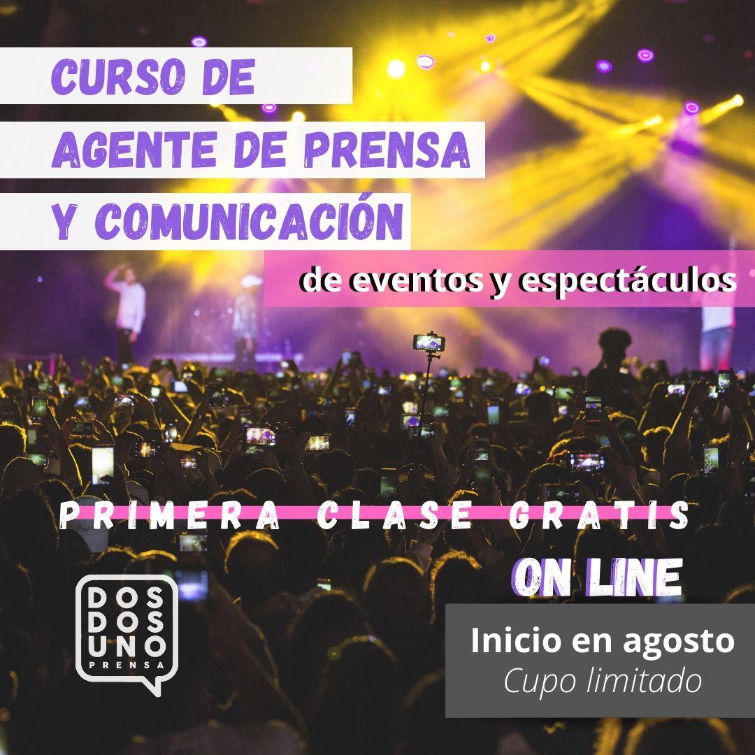 Curso de Agente de Prensa y Comunicación de eventos y espectáculos