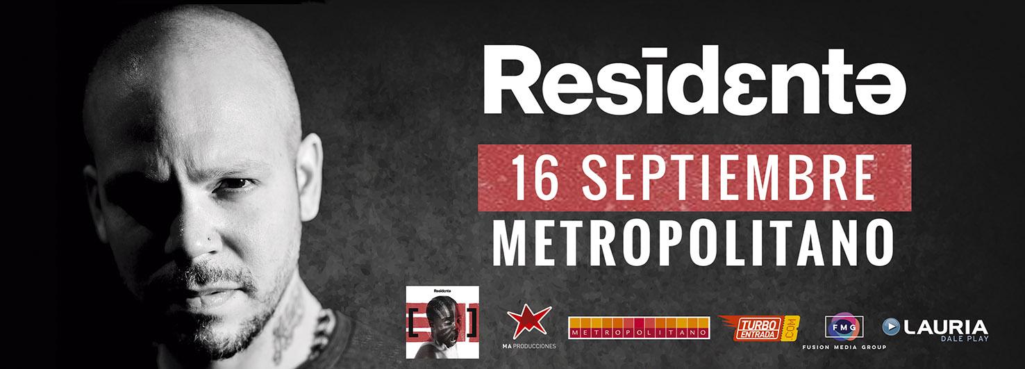 RESIDENTE ¡ Presenta su primer disco solista en ROSARIO !