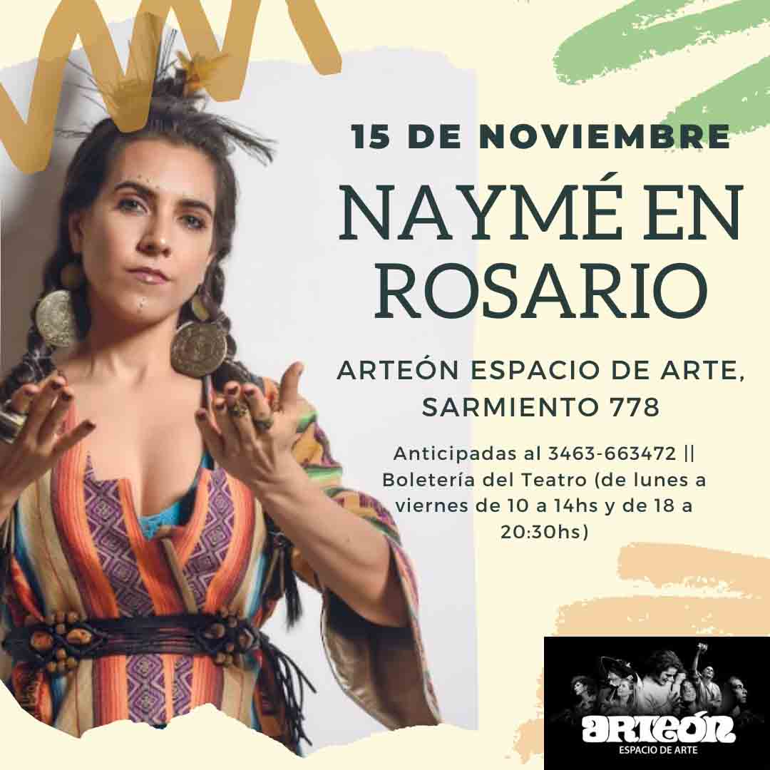"""Naymé presenta su nuevo disco """"Intención"""""""