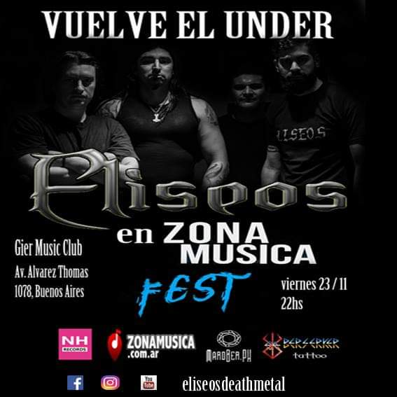 Eliseos en Gier Music Club