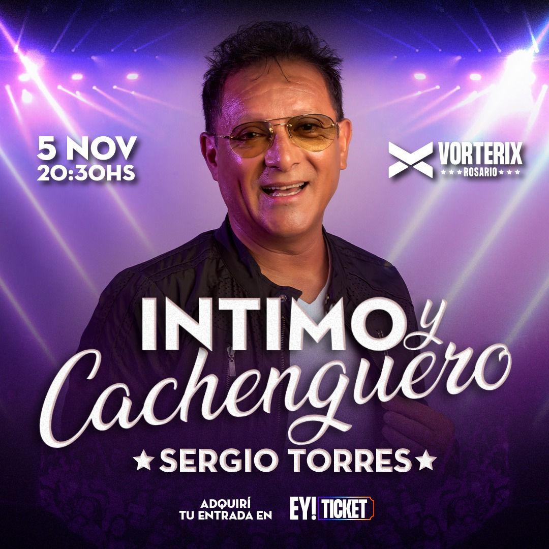 """Sergio Torres presenta su show """"Íntimo y Cachenguero"""""""