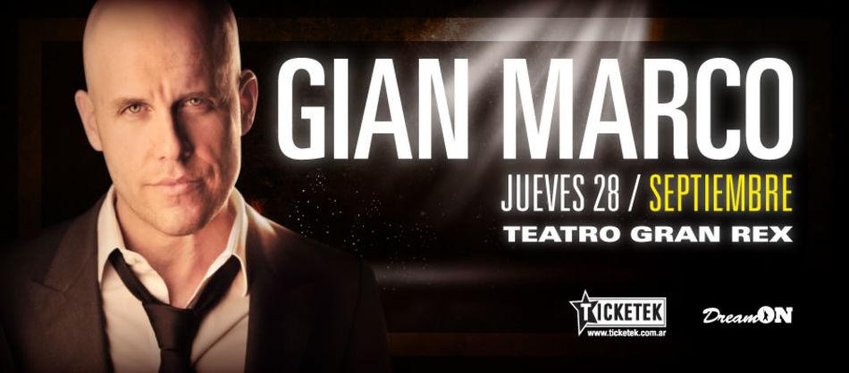 Gian Marco, el cantautor peruano se presenta por primera vez en Argentina