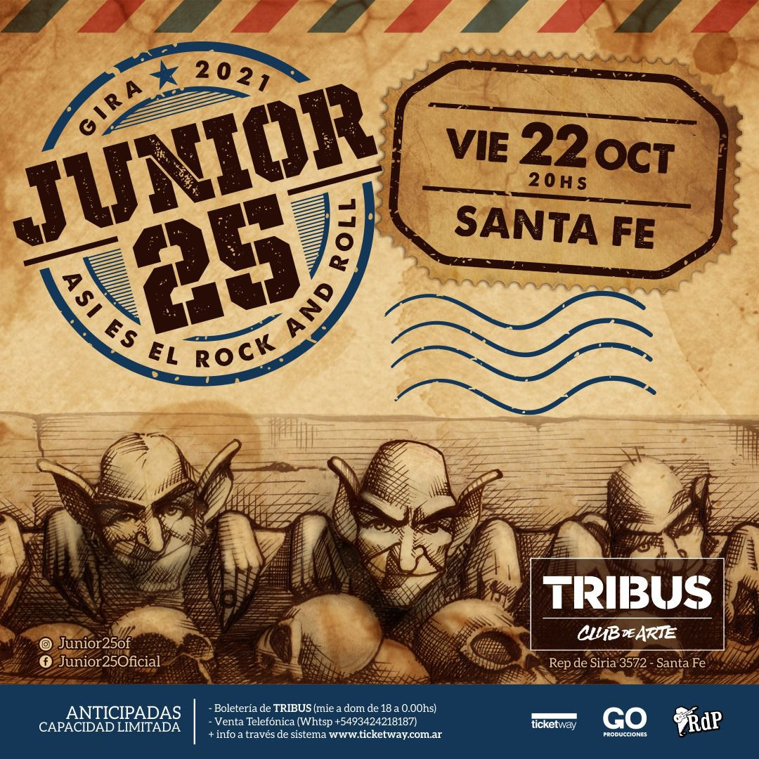 Junior 25 en Santa Fe