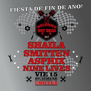 MELODICO NOT DEAD 2017 /SHAILA/ SMITTEN /ASPHIX / NINE LIVES