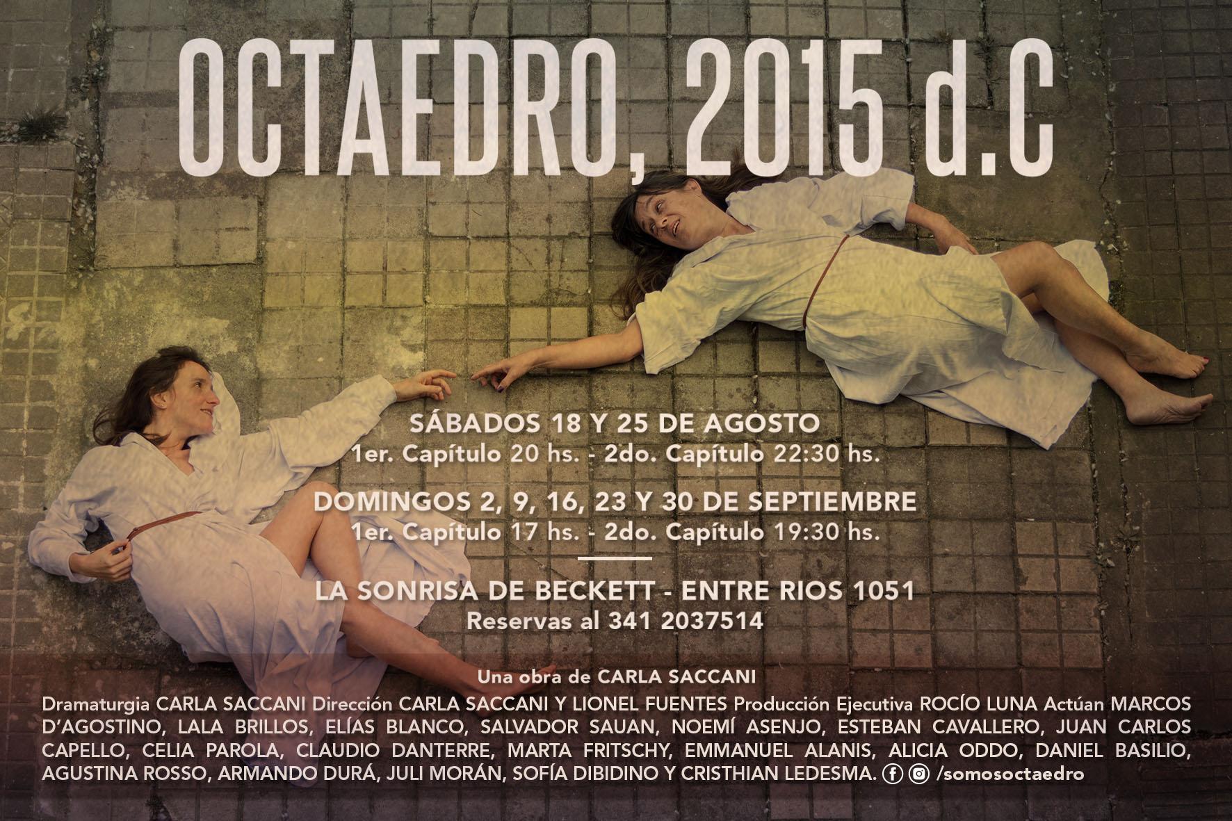 OCTAEDRO 2015 D.C. gran reestreno con nuevo elenco