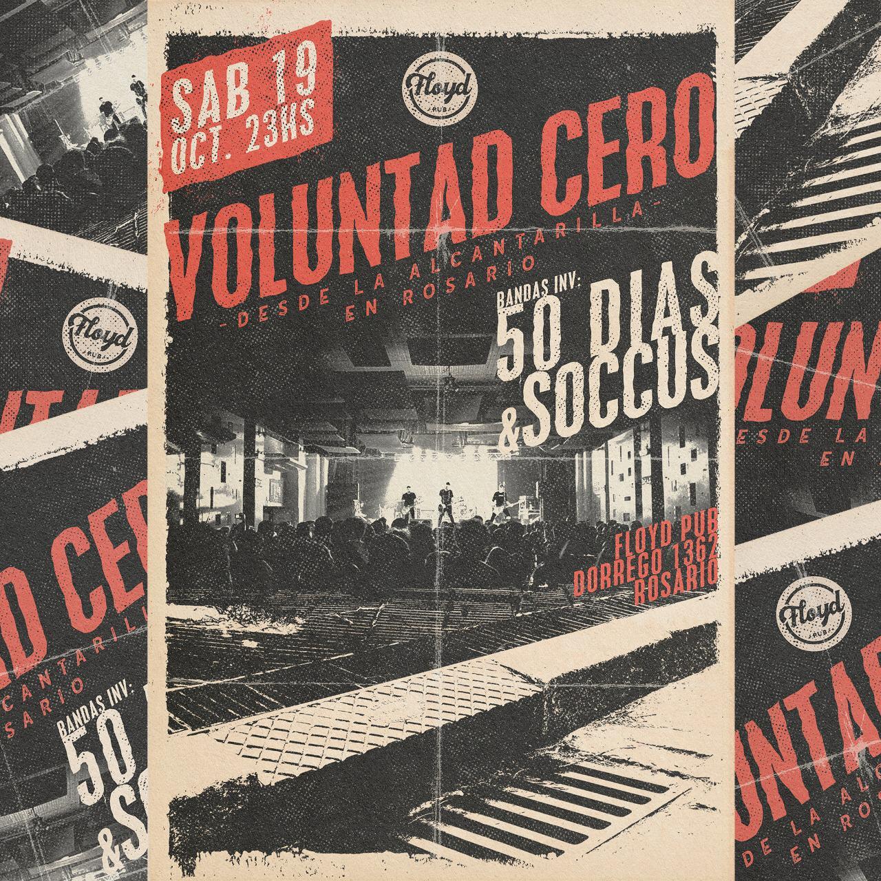 ¡Voluntad Cero presenta su nuevo disco!