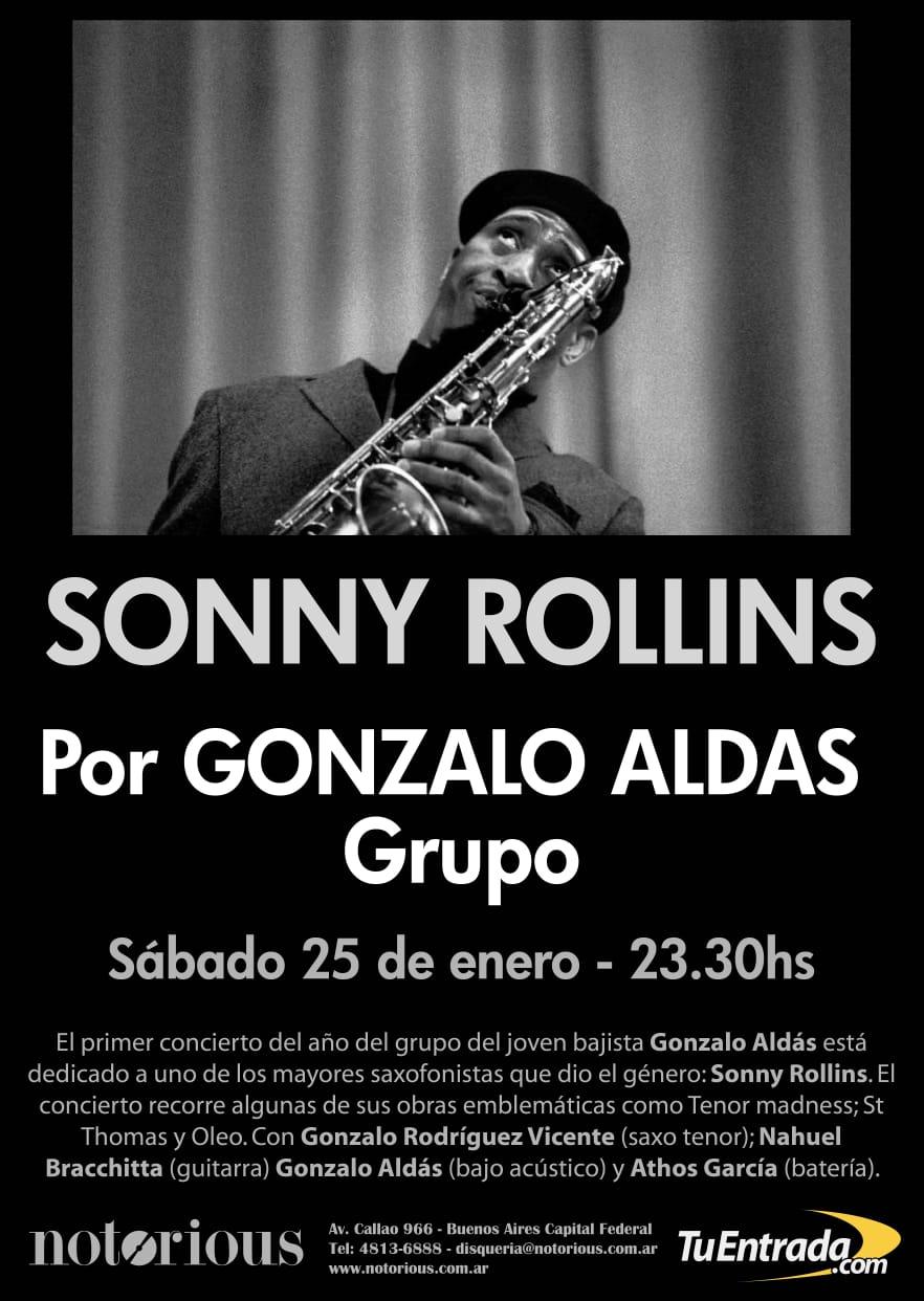 Gonzalo Aldás Grupo: Tributo a SONNY ROLLINS
