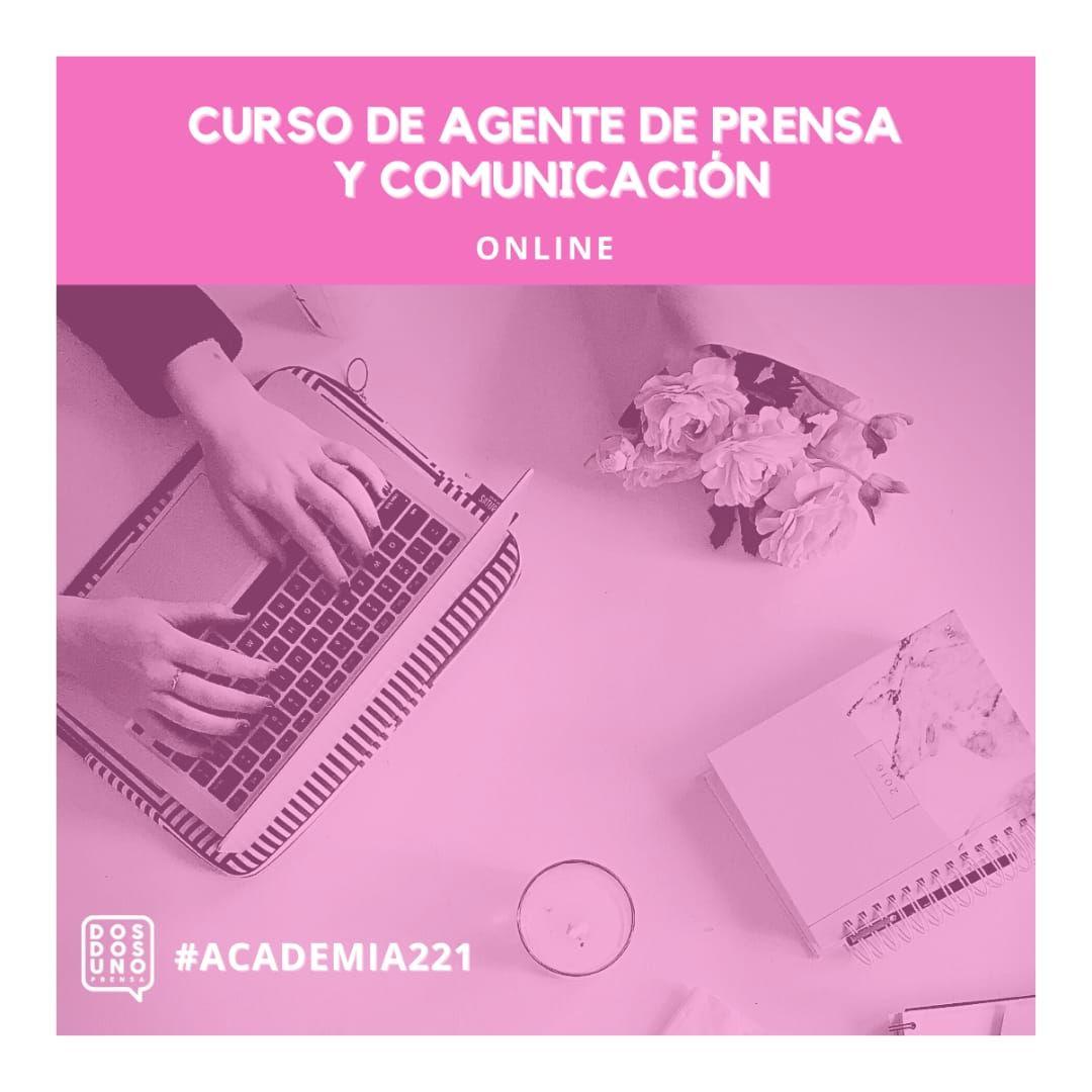 Curso online. Agente de Prensa y Comunicación.