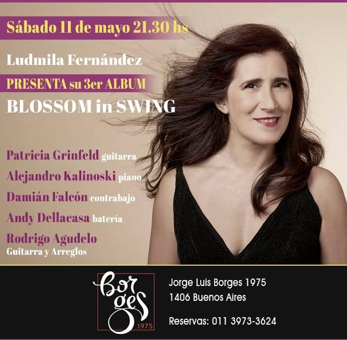 Ludmila Fernández presenta BLOSSOM IN SWING