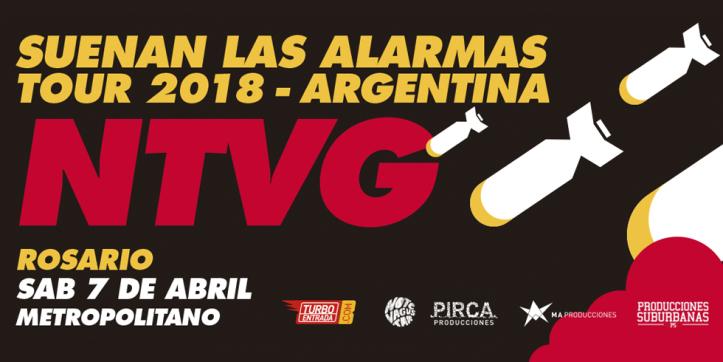 """NO TE VA GUSTAR ¡ Presenta su último disco """"Suenan Las Alarmas"""" en ROSARIO !"""