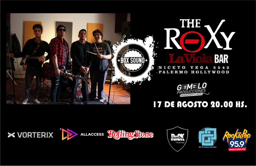 Box Sound en The Roxy Live