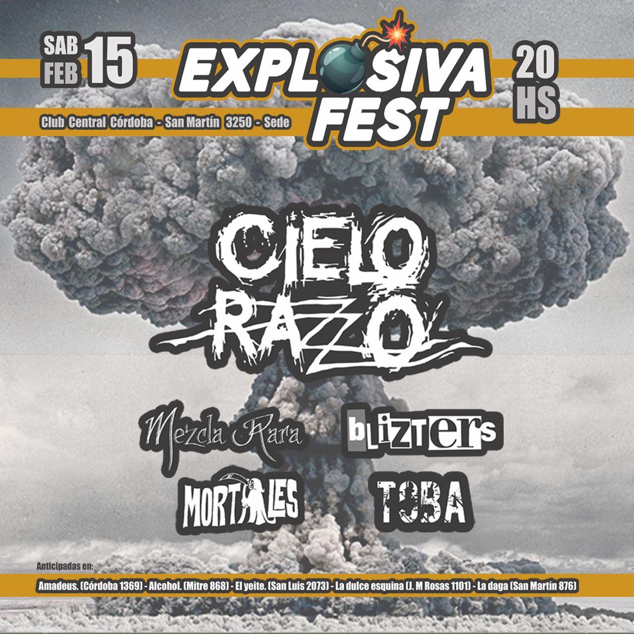 Explosiva Fest ¡Segunda Edición!