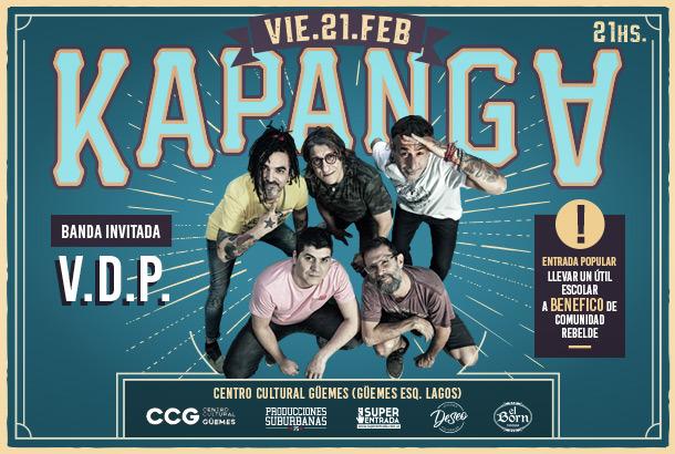 ¡Kapanga regresa a Rosario!