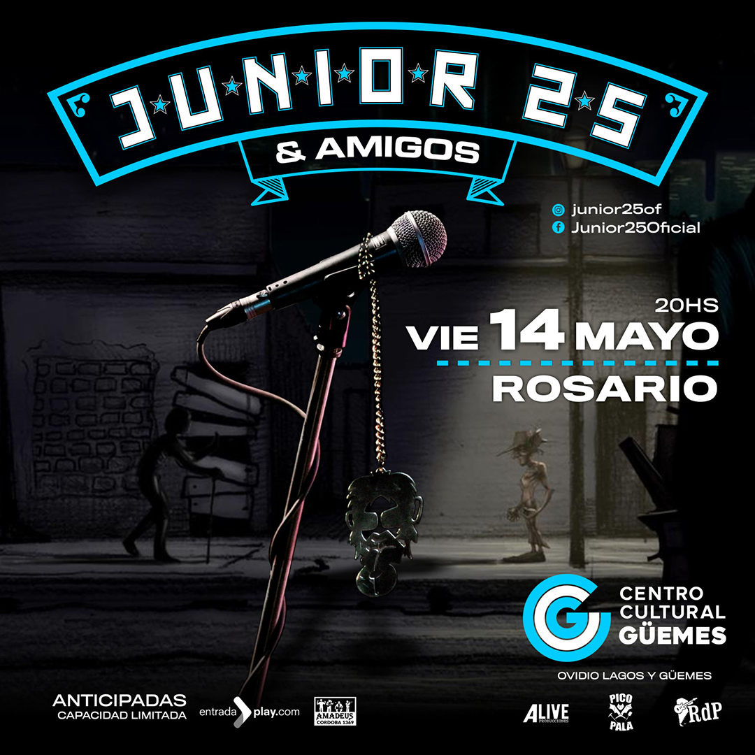 JUNIOR 25 & AMIGOS