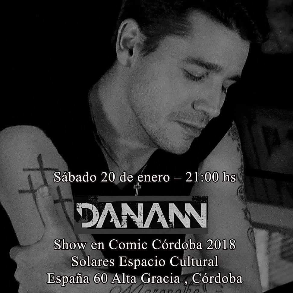 Danann en Cómic Córdoba 2018