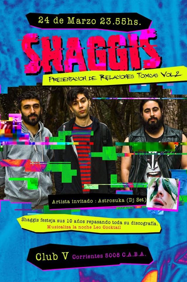 Shaggis celebra en Club V