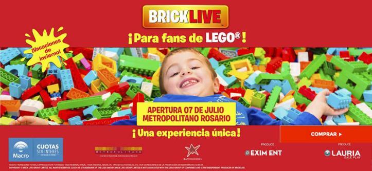 BRICKLIVE por primera vez en Argentina una experiencia única para los fans de LEGO® !