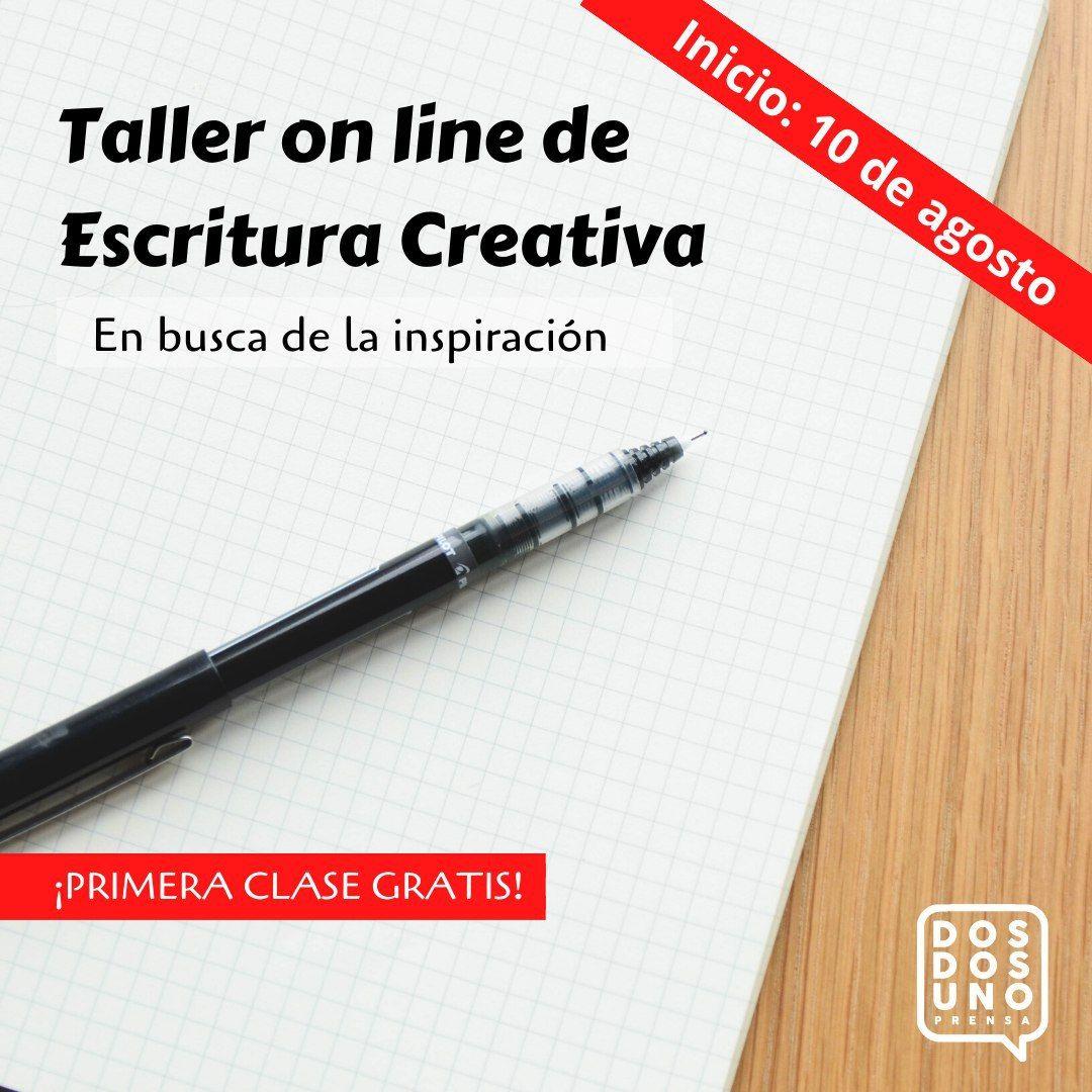 Taller de Escritura Creativa. En busca de la inspiración. ¡Primera clase gratis!