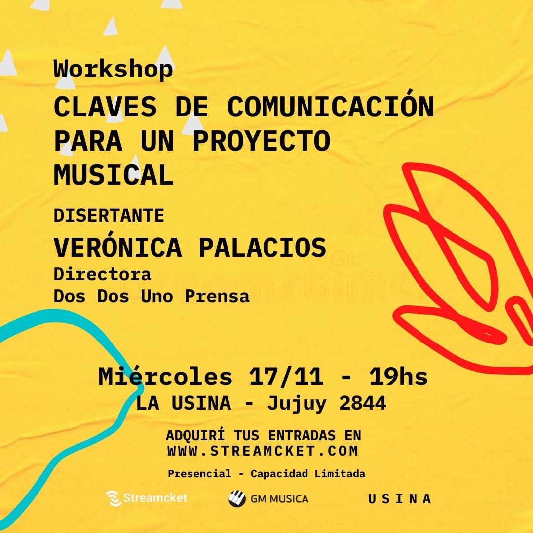 ¡Workshop! Claves de comunicación para un proyecto musical