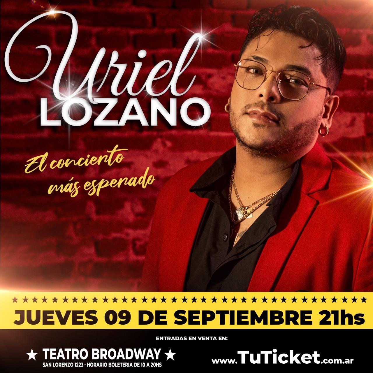 """Uriel Lozano presenta """"Insaciable"""""""