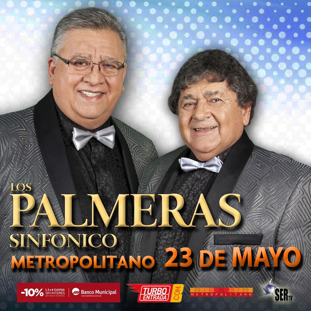 Los Palmeras Sinfónico ¡Un show único!
