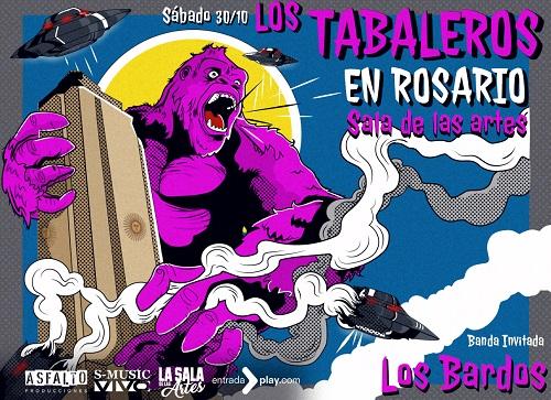 ¡Los Tabaleros regresan a Rosario!