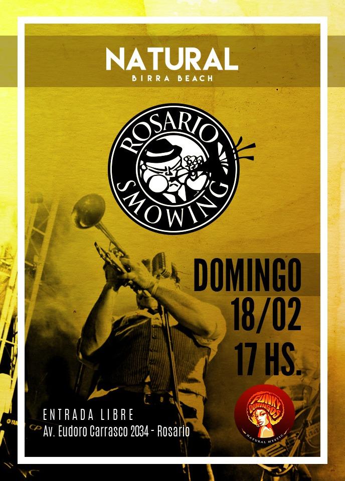 ROSARIO SMOWING ¡ Festeja el cumpleaños de Natural Mystic en Rosario !