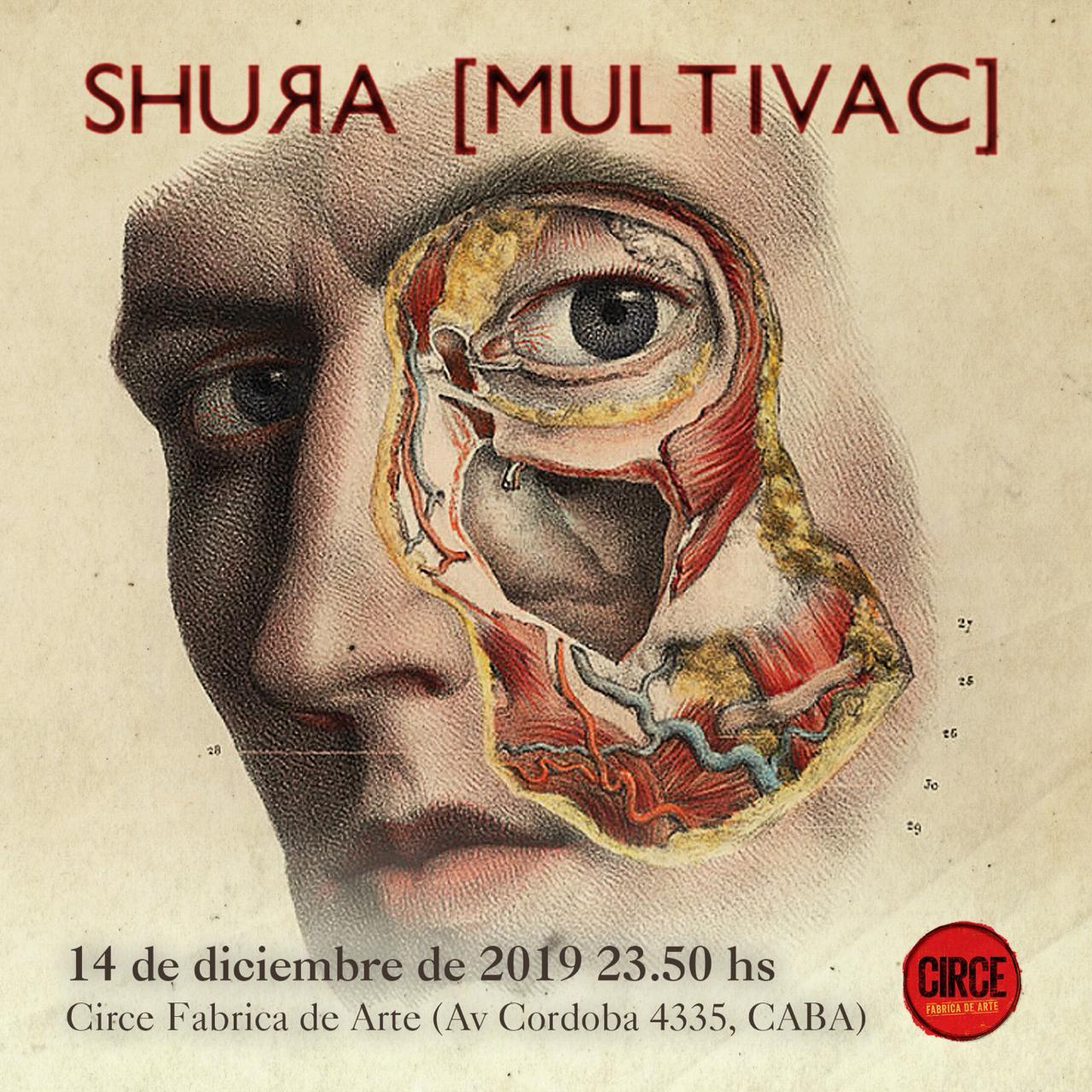 SHURA[MULTIVAC]despideEL VALLE INQUIETANTE en su último recital del año