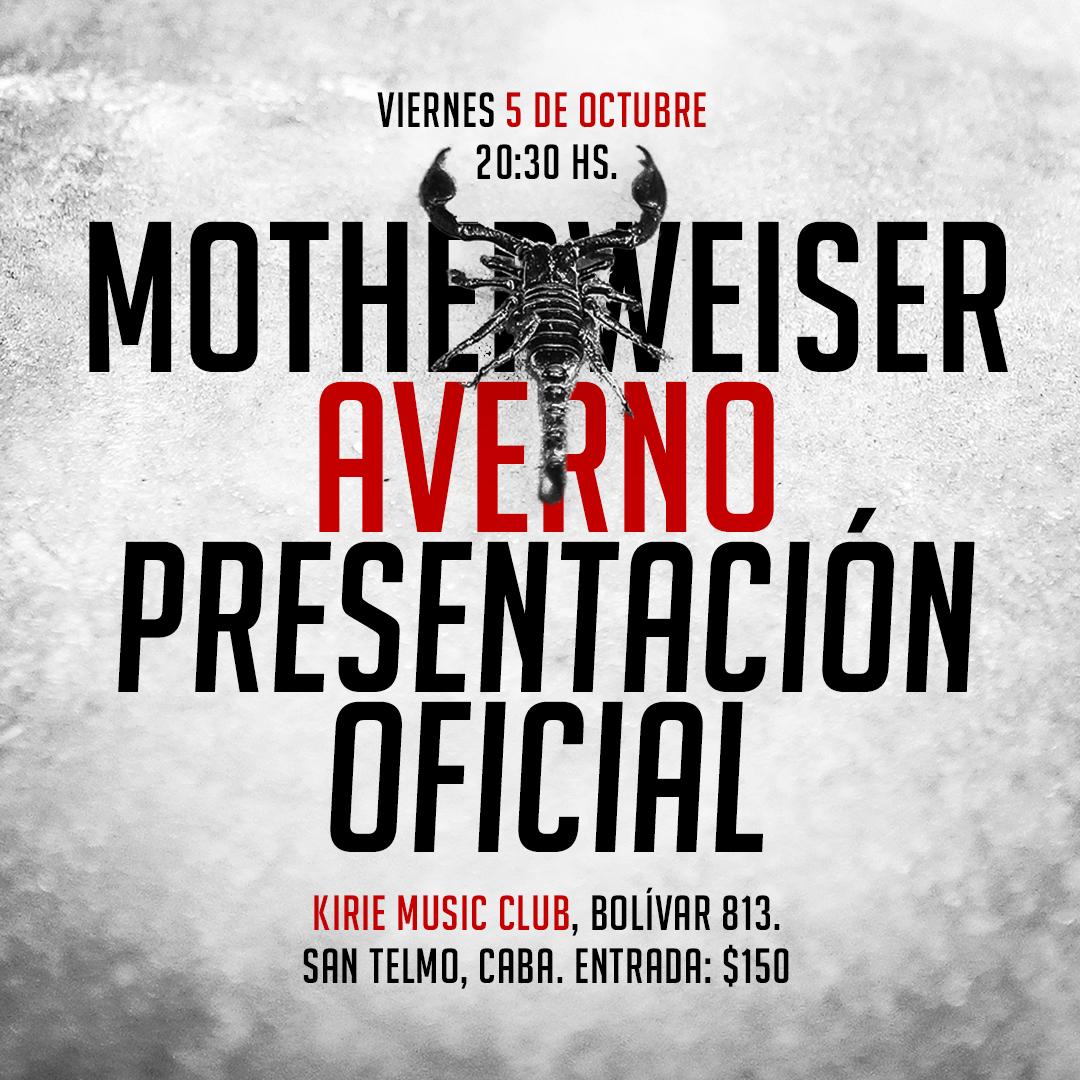 Motherweiser presenta Averno en Kirie