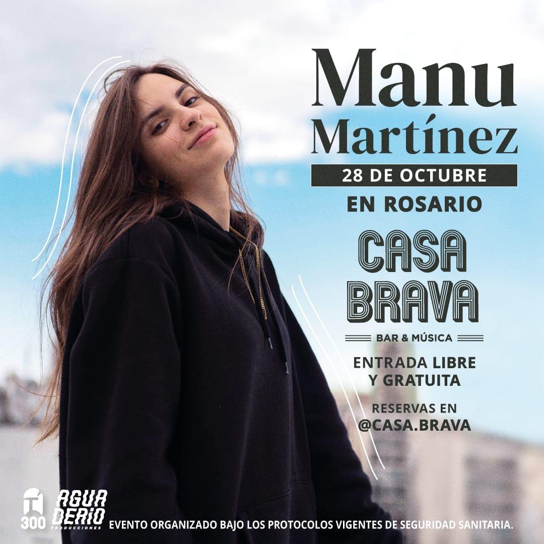 Manu Martínez regresa a Rosario